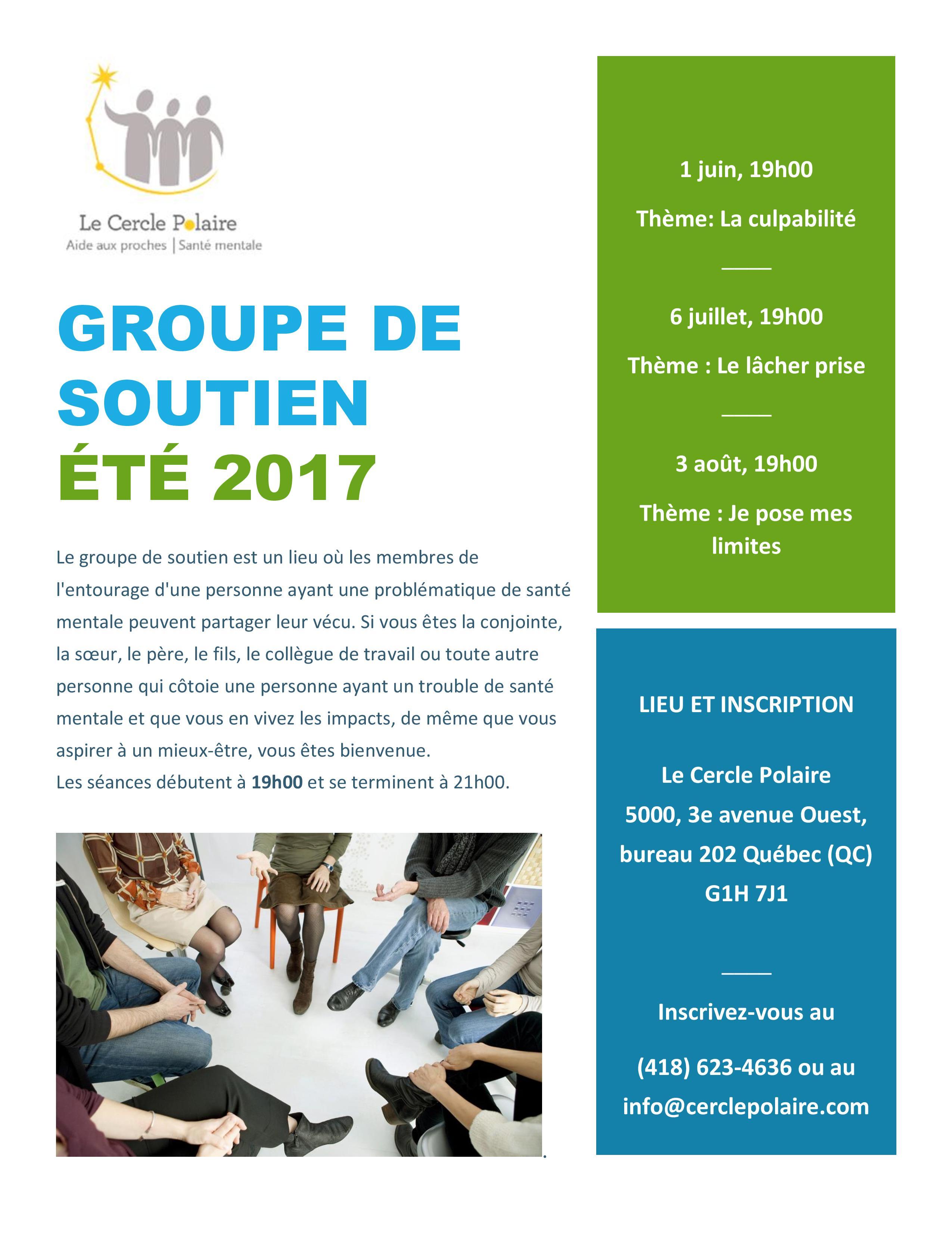 Image - Groupe de soutien Été